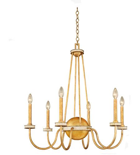 Kalco 500751hg Lasalle 6 Light 30 Inch Honey Gold Chandelier Ceiling