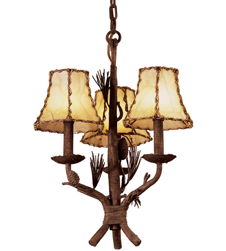 Leather Ponderosa Chandeliers