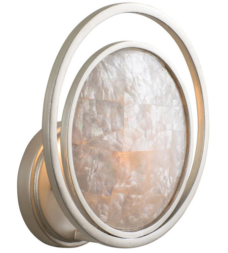 Kalco Mother of Pearl Wall Sconces