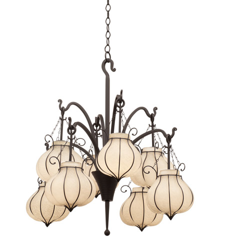 Kalco 5138b1433 mardi gras 8 light 29 inch natural iron chandelier kalco 5138b1433 mardi gras 8 light 29 inch natural iron chandelier ceiling light in 1433 fall clearance mozeypictures Images