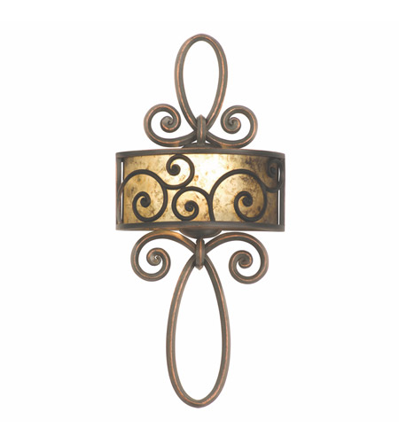 Kalco 5405AC Windsor 1 Light 12 inch Antique Copper Wall Sconce Wall Light in Without Shade photo