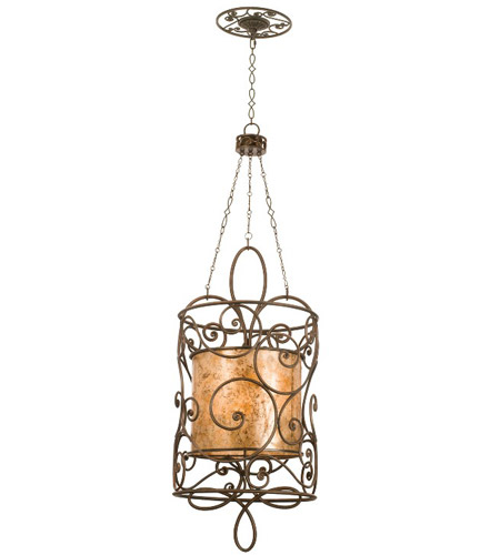 Hand Forged Iron Windsor Foyer Pendants