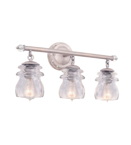 Kalco 6313PS Brierfield 3 Light 21 inch Pearl Silver Vanity Light ...