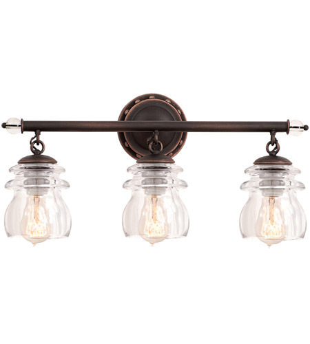 Kalco 6313ac brierfield 3 light 21 inch antique copper bath light kalco 6313ac brierfield 3 light 21 inch antique copper bath light wall light aloadofball Choice Image