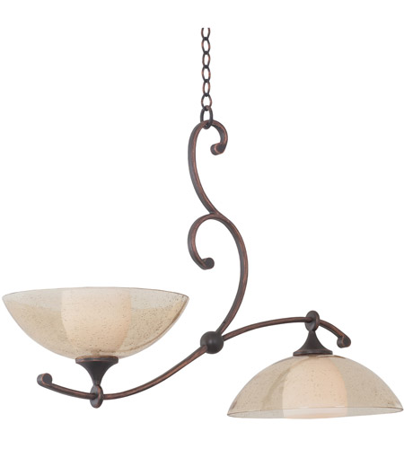 Kalco 6497AC Arroyo 2 Light 26 inch Antique Copper Island Light Ceiling Light photo thumbnail