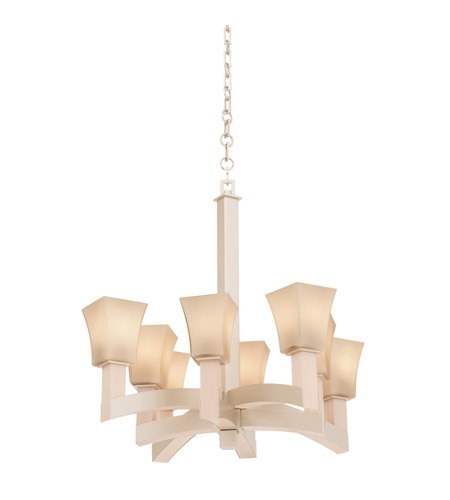 Kalco Lighting Boston 8 Light Chandelier in Tarnished Silver 6516TS photo