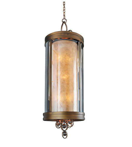 Kalco Sandhurst 6 Light Pendant in Etruscan Bronze 6550EZ photo