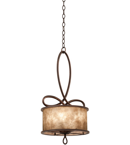 Kalco 6570AC Whitfield 5 Light 15 inch Aged Silver Mini Pendant Ceiling Light in Without Shade, Antique Copper photo