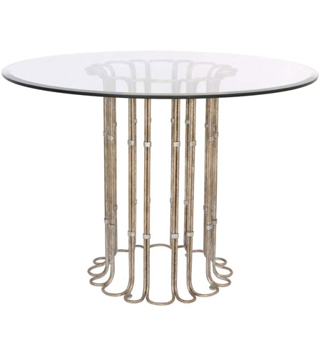 42 inch dining table bar height kalco 800202pt biscayne 42 inch platinum dining table table