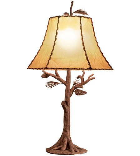 Kalco 872PD Ponderosa 35 inch 15 watt Ponderosa Table Lamp Portable Light photo