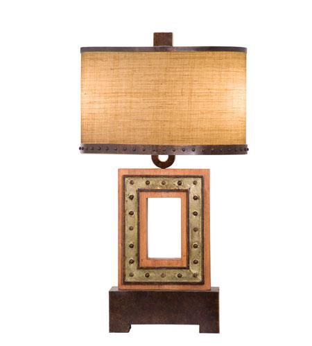 Kalco Aspen 2 Light Table Lamp in Royal Mahogany 896RM photo