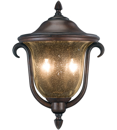 Kalco 9000BB Santa Barbara 2 Light 13 inch Burnished Bronze Outdoor Porch Light photo