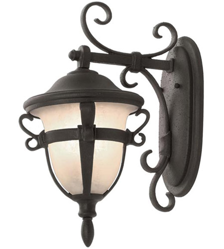 Aluminum Tudor Outdoor Wall Sconces