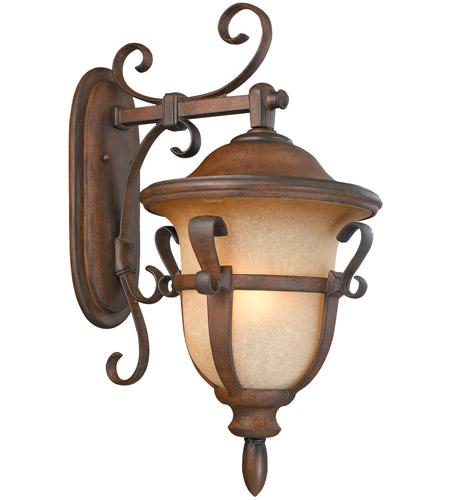 Kalco Lighting Tudor 4 Light Outdoor Wall Bracket in Walnut 9393WT photo