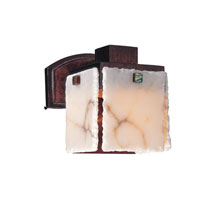 Bedford 1 Light 8 inch Tuscan Gold Wall Bracket Wall Light in Copper Patina, Alabaster