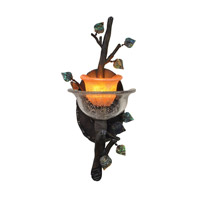Kalco Lighting Cottonwood 1 Light Wall Sconce in Sienna Bronze 2510SB/ART
