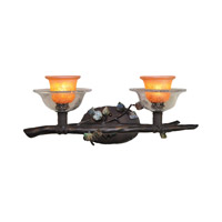 Kalco Lighting Cottonwood 2 Light Bath Vanity in Sienna Bronze 2512SB/ART