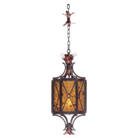 Marlowe 3 Light 14 inch Antique Copper Foyer Light Ceiling Light in Without Glass