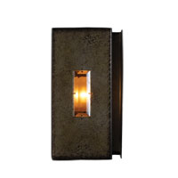 Kalco Manchester 1 Light Wall Sconce in Aged Silver 2625SV