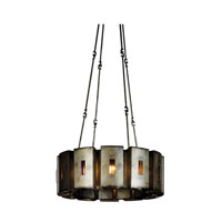 Kalco Manchester 12 Light Chandelier in Aged Silver 2629SV