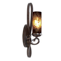 Kalco Grayson 1 Light Wall Bracket in Saxon Gold 2665SG/PS22