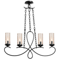 Kalco Lighting Grayson 4 Light Island Light in Heirloom Bronze 2669HB/1100