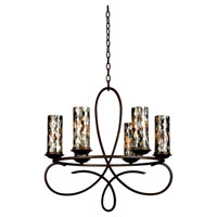 Kalco Grayson 6 Light Chandelier in Heirloom Bronze 2674HB/NS22