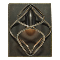 Kalco Oxford 1 Light Wall Sconce in Heirloom Bronze 2691HB