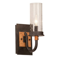 Bentham 1 Light 5 inch Natural Iron Bath Light Wall Light in (1100) FALL CLEARANCE