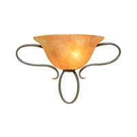 Kalco Chelmsford 1 Light Wall Sconce in Heirloom Bronze 2749HB