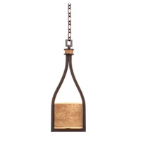 Kalco Lighting New Haven 1 Light Mini Pendant in Heirloom Bronze 2756HB