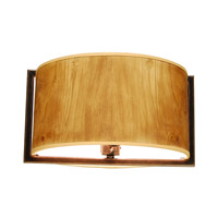 New Haven 3 Light 18 inch Antique Copper Semi Flush Mount Ceiling Light in Without Glass, Hierloom Bronze