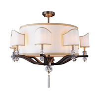 Kalco Sutton 16 Light Chandelier in Antique Brass 2795AB