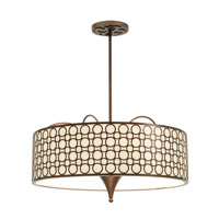 Kalco Lighting Amesbury 6 Light Pendant in Chesnut 2800CN
