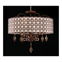 Kalco Amesbury 6 Light Pendant in Sienna Bronze 2800SB