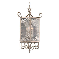 Kalco Kendall 3 Light Foyer Light in Aged Silver 2806SV