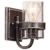 Kalco Bexley 1 Light Bath Light in Vintage Iron 2891VI
