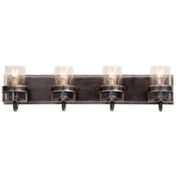 Kalco 2894VI Bexley 4 Light 28 inch Vintage Iron Vanity Light Wall Light