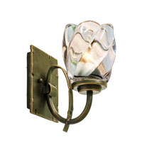 Kalco Penrith 1 Light Bath Light in Antique Copper 2921AC