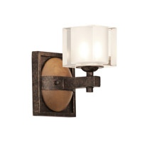 Kalco Hampton 1 Light Bath Light in Florence Gold 2931FG