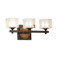 Kalco Hampton 3 Light Bath Light in Florence Gold 2933FG