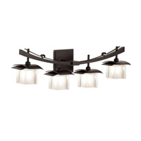 Kalco Lighting Nijo 4 Light Bath Light in Tawny Port 2984TP