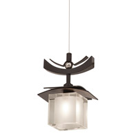 Kalco Lighting Nijo 1 Light Mini Pendant in Tawny Port 2985TP