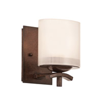 Kalco Stapleford 1 Light Bath Light in Tuscan Sun 2991TN