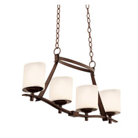 Kalco Lighting Stapleford 4 Light Island Light in Tuscan Sun 2995TN