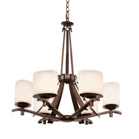 Kalco Stapleford 6 Light Chandelier in Tuscan Sun 2997TN
