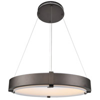 Halo 27 inch Bronze Pendant Ceiling Light