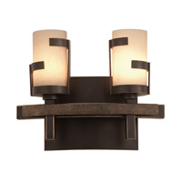 Emsworth 2 Light 11 inch Tawny Port Bath Light Wall Light FALL CLEARANCE