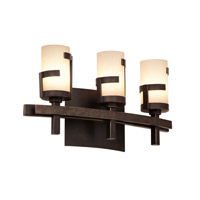 Kalco Emsworth 3 Light Bath Light in Tawny Port 3013TP