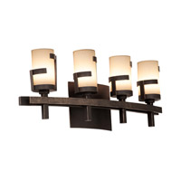 Kalco Emsworth 4 Light Bath Light in Tawny Port 3014TP